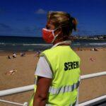 Acomodador de playa